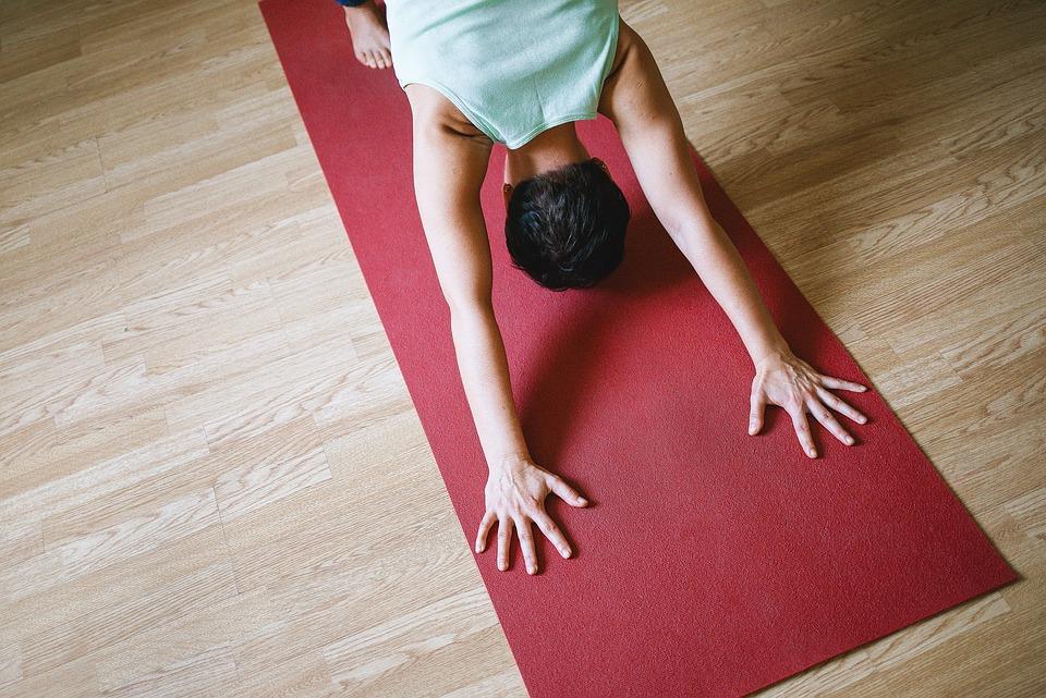 Yoga em casa em 10minutos