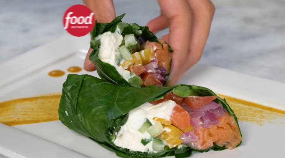 Receita: Burrito lowcarb